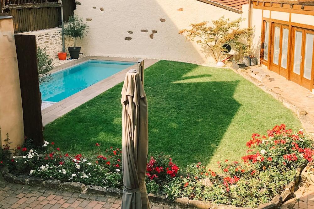 Dvojlôžková izba, súkromná kúpeľňa, výhľad na bazén (ZEN) - Bazén