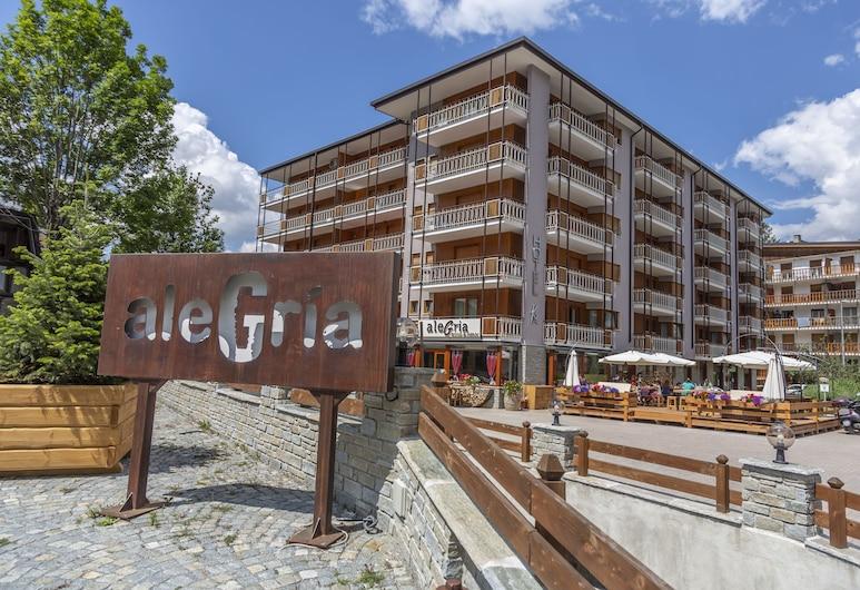 Hotel K2, Sauze d'Oulx, Pohľad na hotel