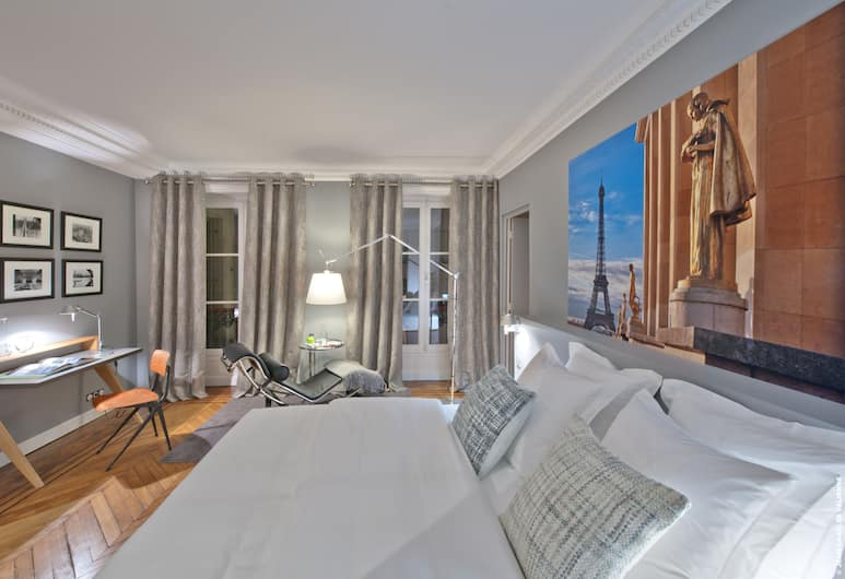 My Home For You B&B, Paris, Premium Double or Twin Room, Guest Room