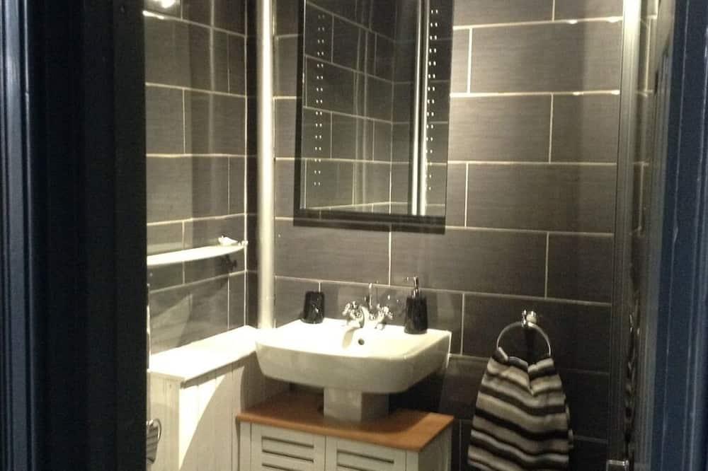 Deluxe szoba kétszemélyes ággyal, fürdőszobával (Tan-y-Blwch) - Fürdőszoba