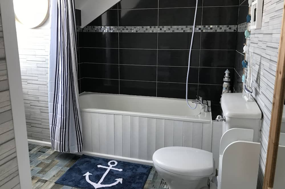 Standard szoba kétszemélyes ággyal, fürdőszobával (Aberdovey) - Fürdőszoba