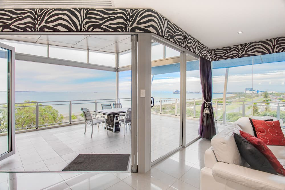 Executive penthouse, 3 spavaće sobe, pogled na ocean - Dnevni boravak