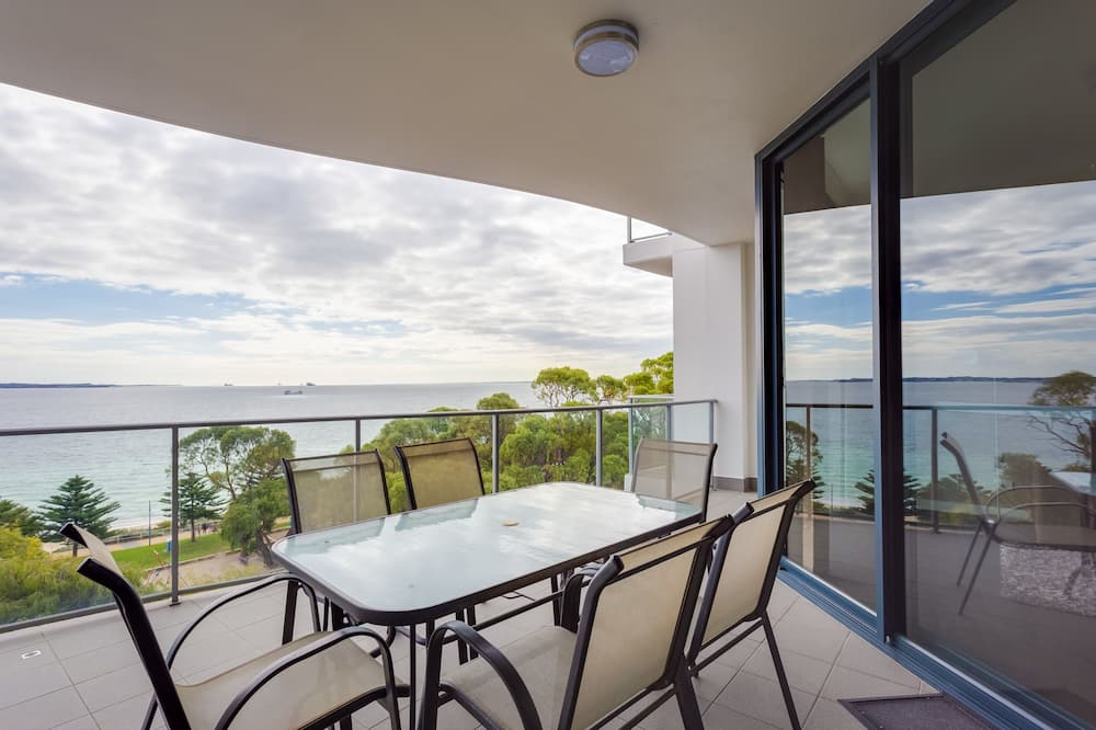 Executive Διαμέρισμα, 3 Υπνοδωμάτια, Θέα στη Θάλασσα - Μπαλκόνι