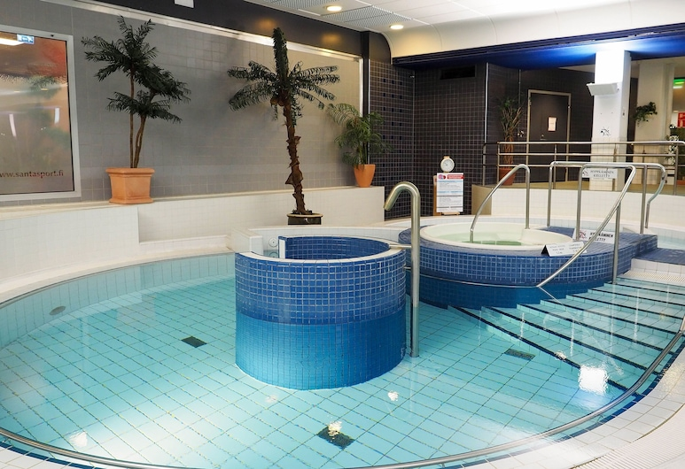 Santasport Hostel, Rovaniemi, Indoor Pool