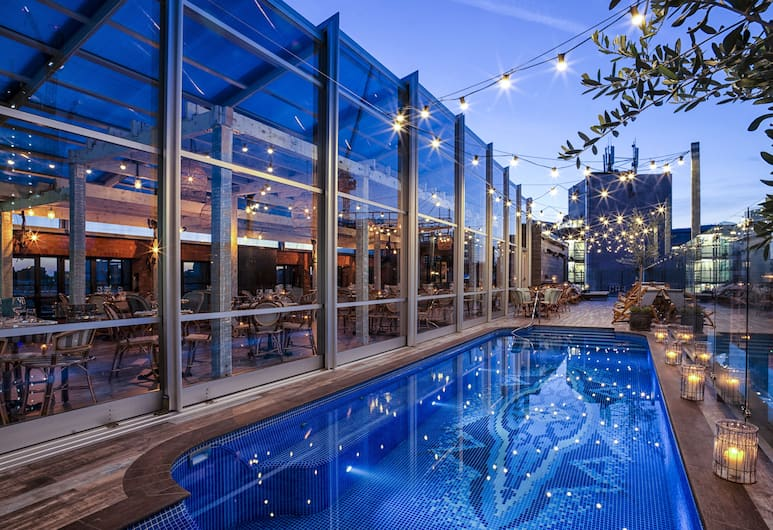The Curtain, London, Rooftop Pool
