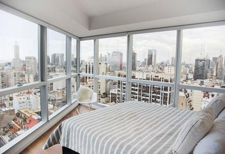 Top Rentals, Buenos Aires, Luxusní apartmán, 2 ložnice, Výhled na město
