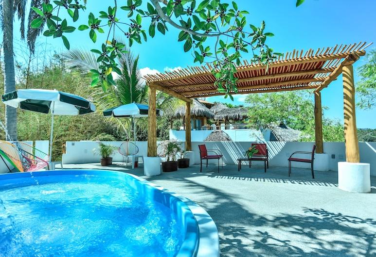 Mar y Sueños Suites, Sayulita, Suite Deluxe, Terraza o patio