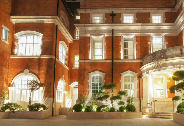The LaLit London, London, Hotel Front – Evening/Night