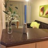 Apartamento Superior Familia  Varanda 403  pool view  - Living Room