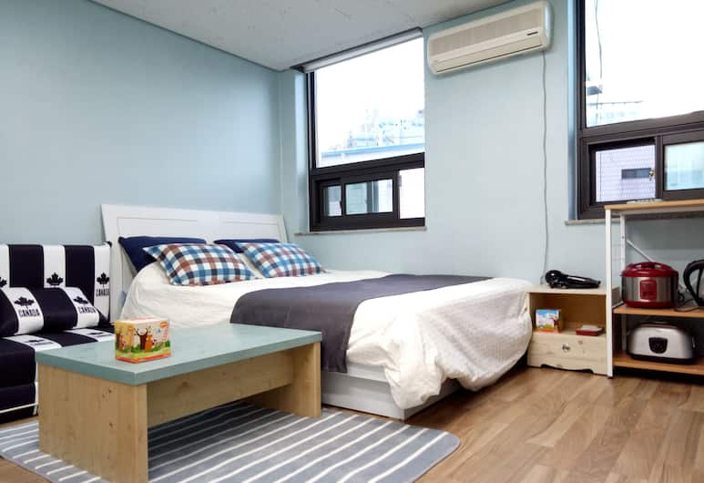 Central Apartment, Seoul, Deluxe Apartment, 1 Queen Bed with Sofa bed, Room