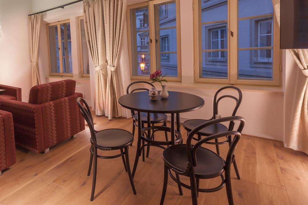 Luxury Suite, 1 Bedroom, Kitchen - Living Room