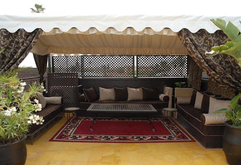 恩傑馬之家酒店, 馬拉喀什, 陽台