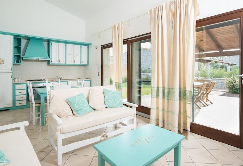 Villa Granito, Castiadas, Villa, 2 hálószobával, Nappali rész