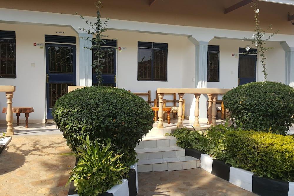 Executive tweepersoonskamer, uitzicht op tuin - Balkon