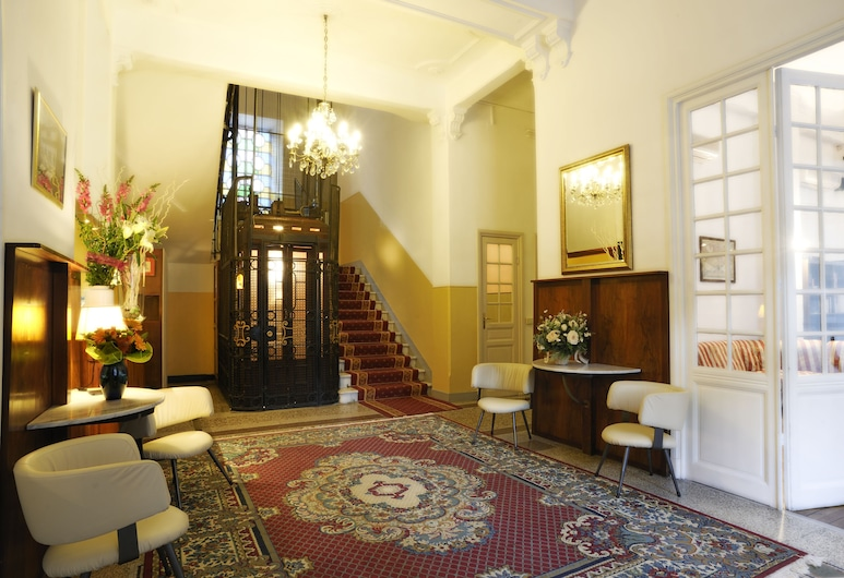 Hotel Alfieri, Alassio, Ingresso interno