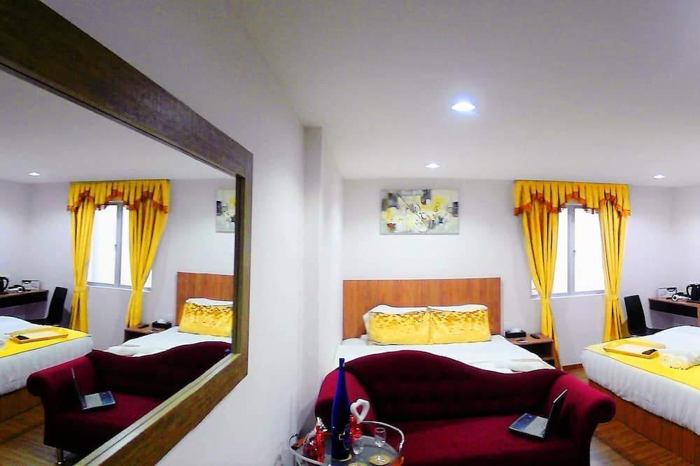 Familien-Suite - Ausblick vom Zimmer