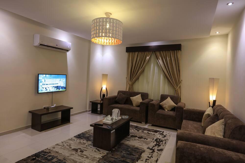 Departamento, 2 habitaciones, 2 baños - Sala de estar