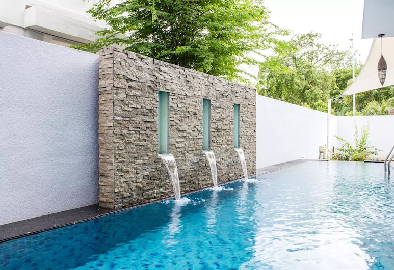 Penang Inn VIP Villa, George Town, Välibassein