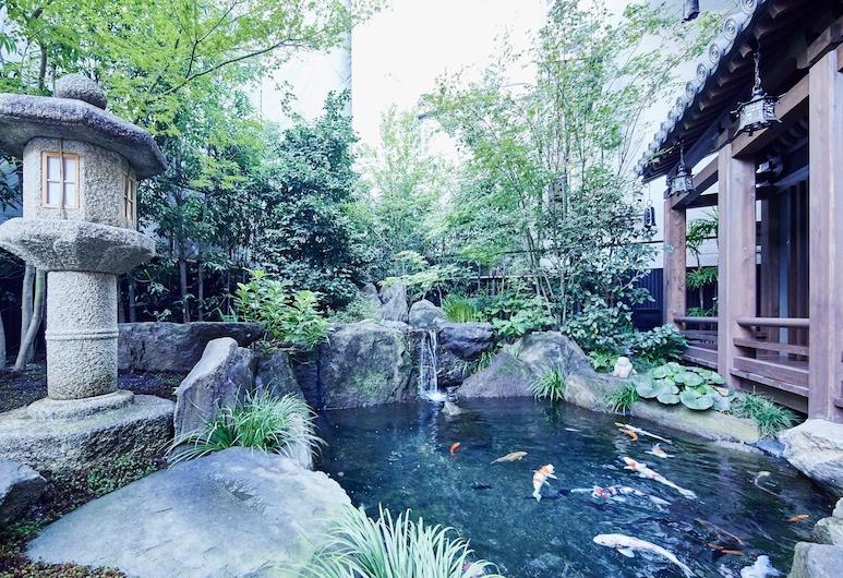 Sunrise Suites, Kyoto, Záhrada