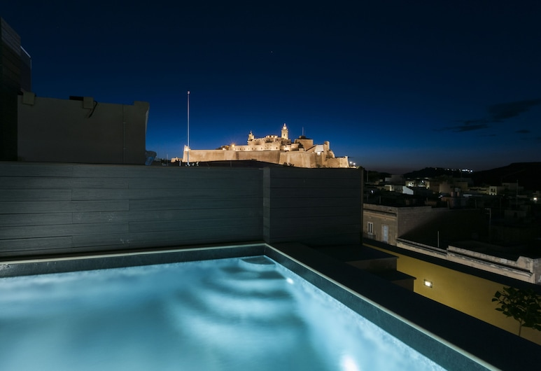 The Duke Boutique Hotel, Victoria, Prezidentské apartmá, soukromý bazén, výhled do zahrady, Soukromý bazén