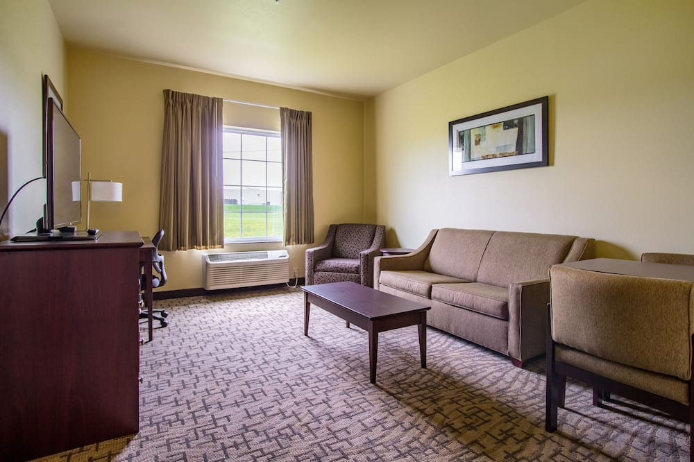 Suite, Multiple Beds, Non Smoking (Extended Stay) - Living Area