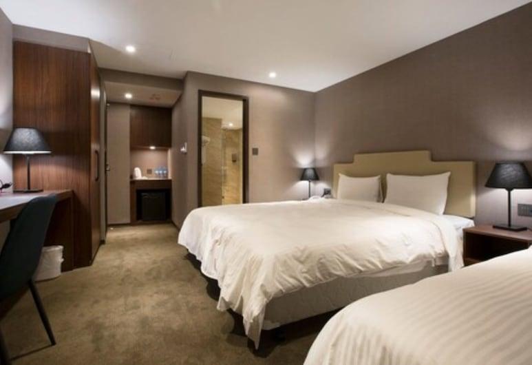 Noble Hotel, Taipei, Eenvoudige driepersoonskamer, Kamer