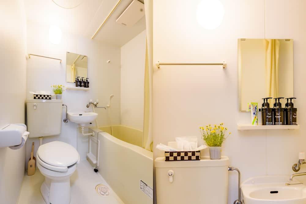 Habitación tradicional, vista a la ciudad (Japanese Style, for 4 Persons) - Baño