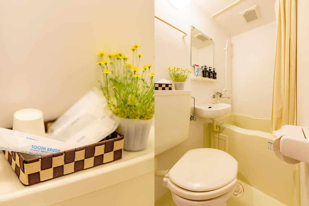 Japanese Style Room For 2 Persons - Bathroom