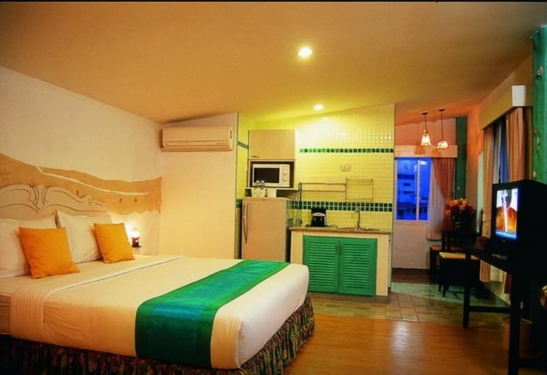Nava Boutique Guesthouse, Pattaya, Standard Double Room, Guest Room