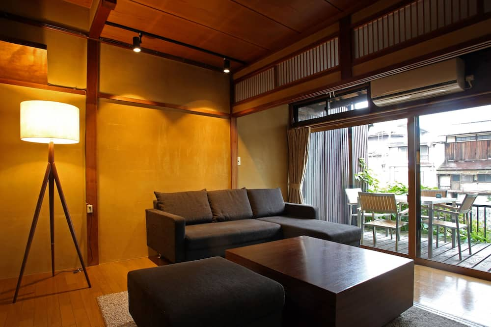 Casa Básica (c/i:16-3, Kataharamachi,Takayama,Gifu) - Área de Estar
