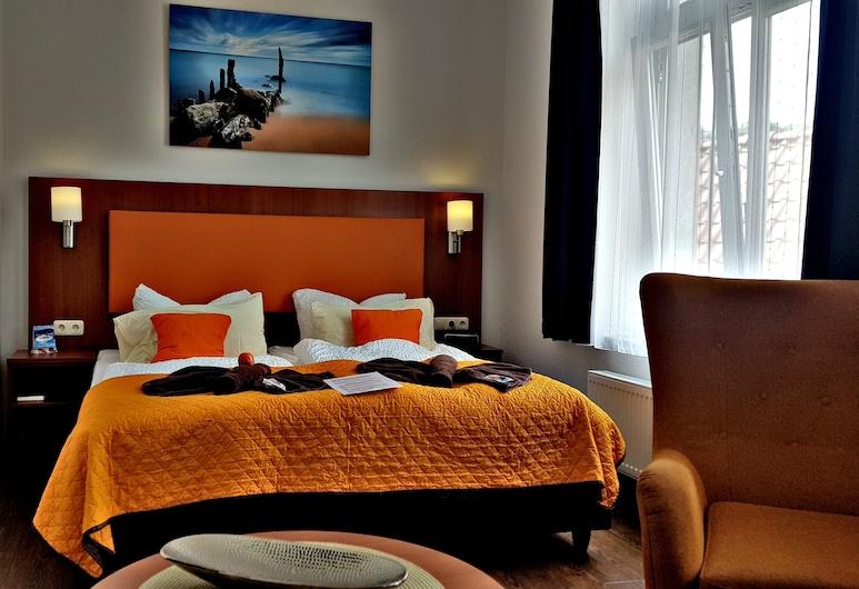 Hotel Amber Altstadt Stralsund, Stralsund, Comfort-Doppel- oder -Zweibettzimmer, Nichtraucher, allergikerfreundlich, Zimmer