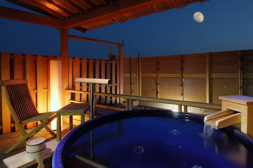 Room with open-air private bath Seigetsu tei, Non Smoking - Balcony