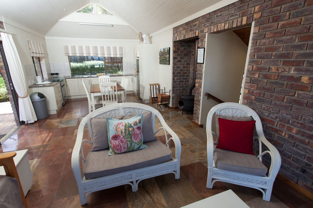 Luxury Chalet, 2 Bedrooms - Living Area