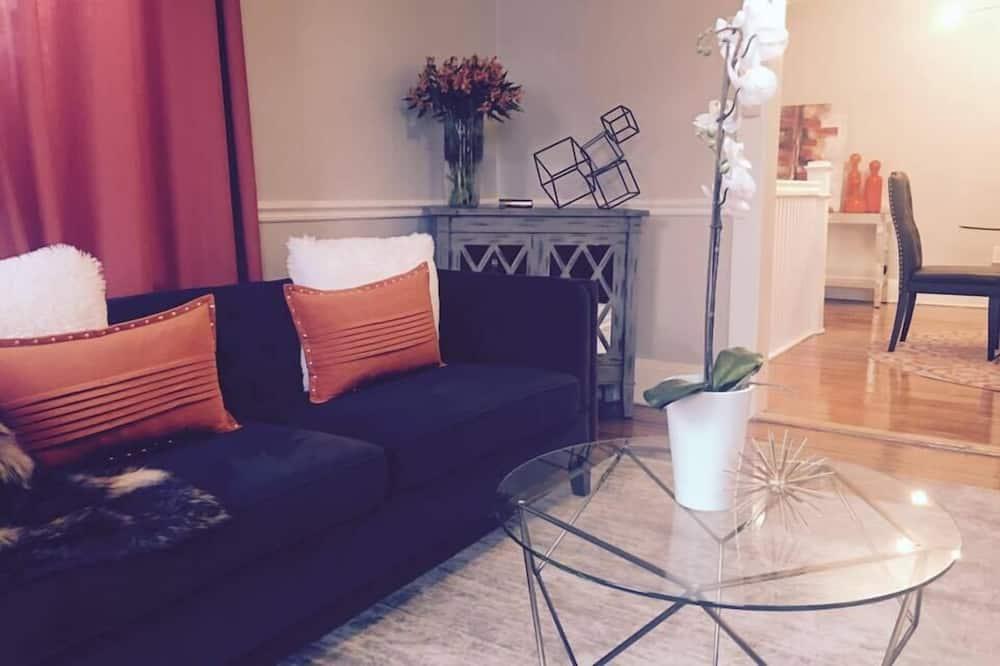 Deluxe Condo, 2 Bedrooms, Kitchen - Living Area