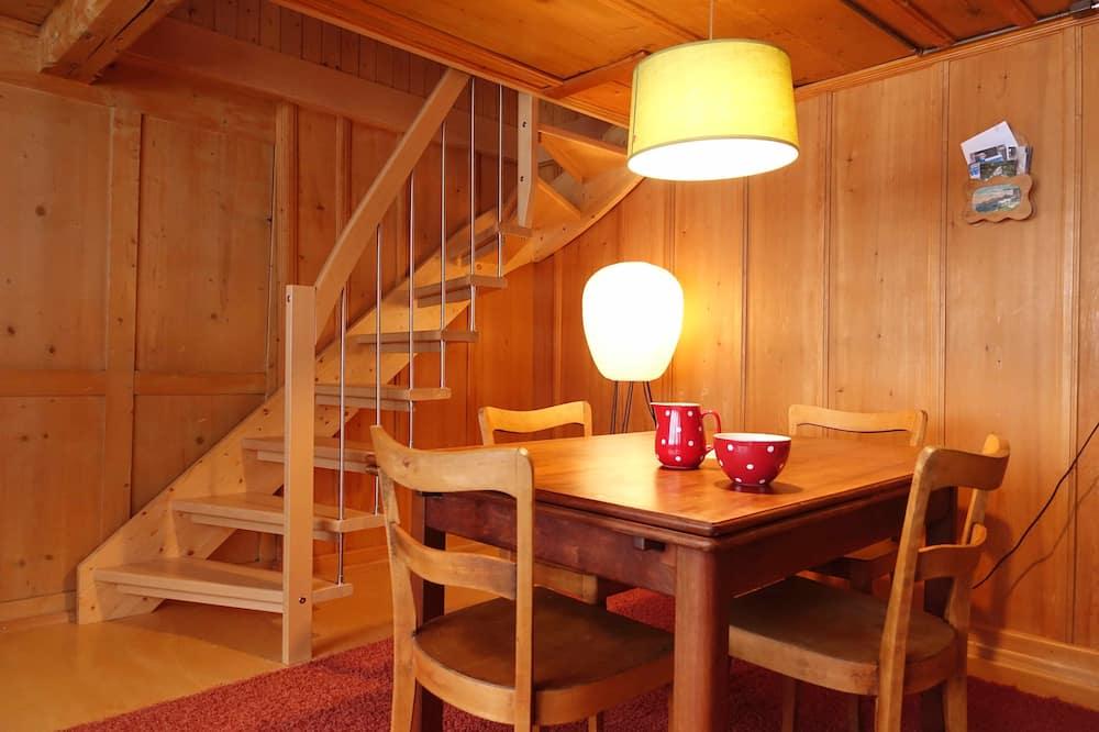 apartman, 3 hálószobával - Étkezés a szobában