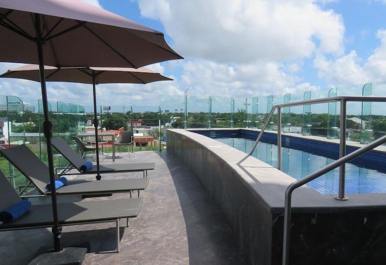 Hilton Garden Inn Merida, Mérida, Χώρος για ηλιοθεραπεία