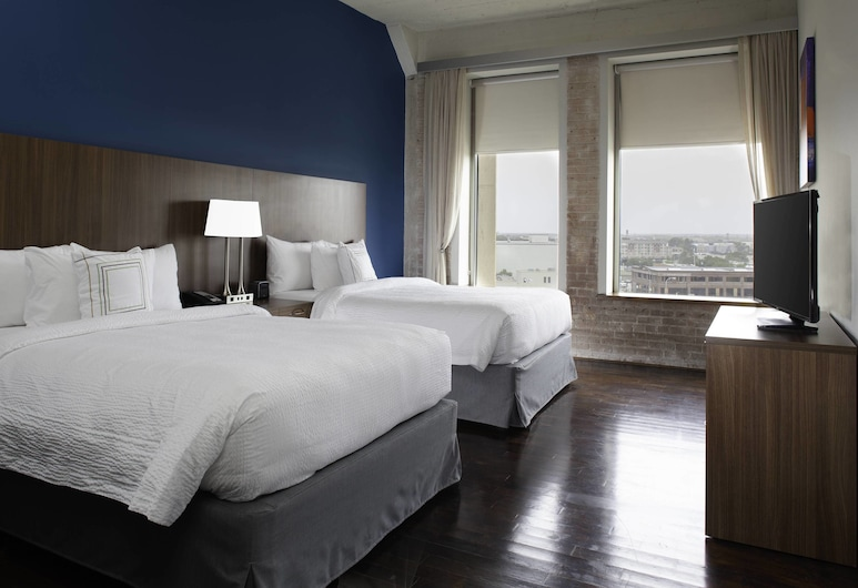 TownePlace Suites by Marriott Dallas Downtown, Dallas, Studio, Multiple Beds, Guest Room