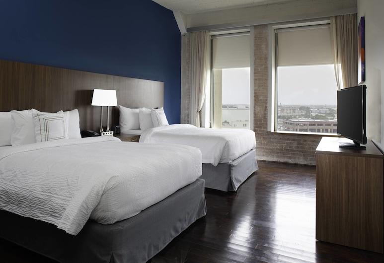 TownePlace Suites by Marriott Dallas Downtown, Dallas, Studio, Mehrere Betten, Zimmer