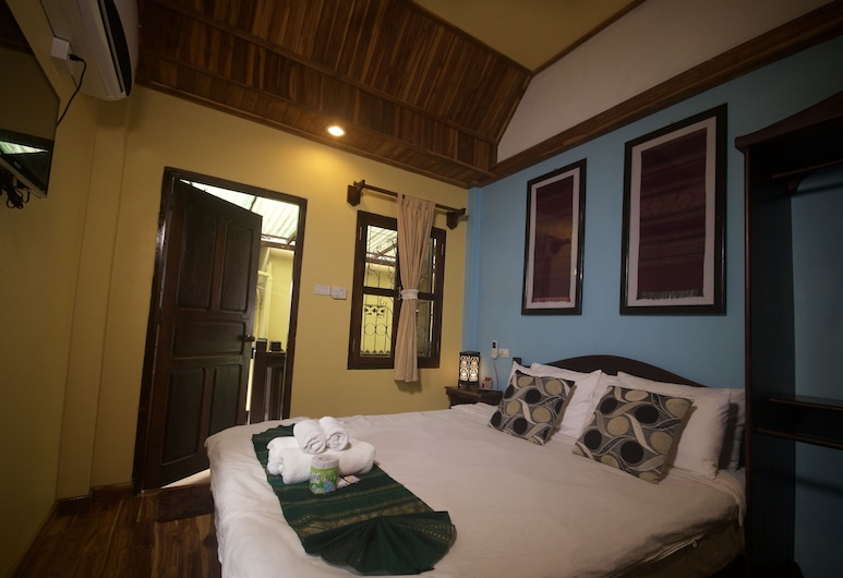 Pakam Guesthouse, Luang Prabang, Standard Double with Fan, Zimmer