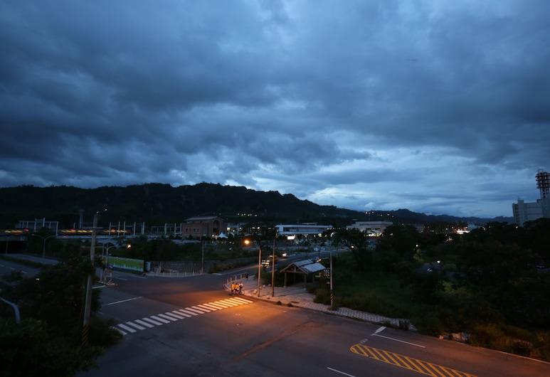 Moon Villa B&B, Taitung, Elitna četverokrevetna soba, 1 spavaća soba, pogled na dolinu, Terasa/trijem