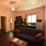 Comfort appartement, 1 queensize bed, niet-roken - Woonruimte