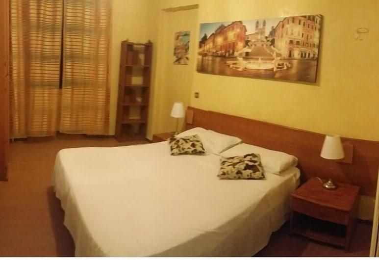 華特客房酒店, Rome, 雙人或雙床房, 獨立浴室, 客房