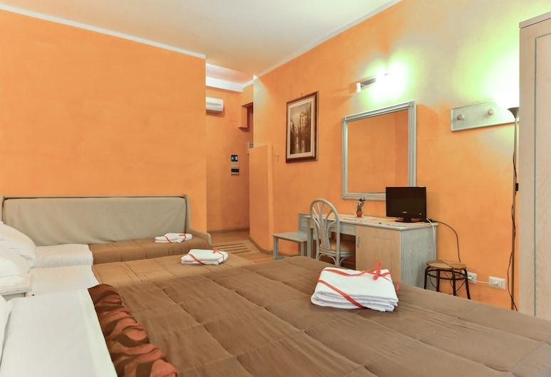 Gisa Apartment, Roma, Appartamento familiare, bagno condiviso (Marghera 2), Vista dalla camera