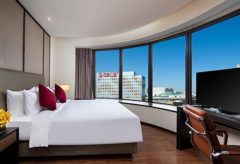上海三迪華美達酒店, Shanghai, 客房, 1 張特大雙人床, 非吸煙房, 客房