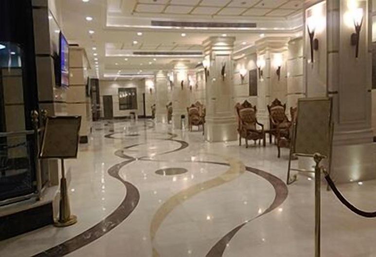 Al Waleed Tower, Mecka, Sittområde i lobbyn