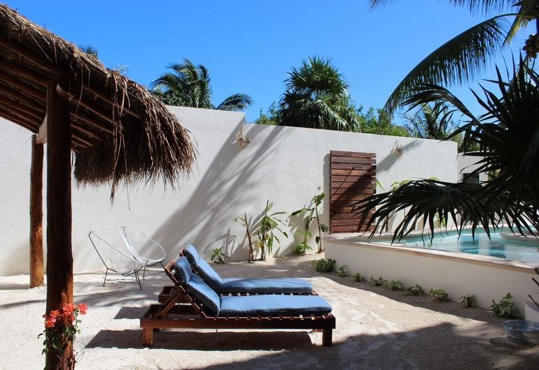 Tierra Mia Hotel Boutique, Isla Holbox, Terrasse/patio