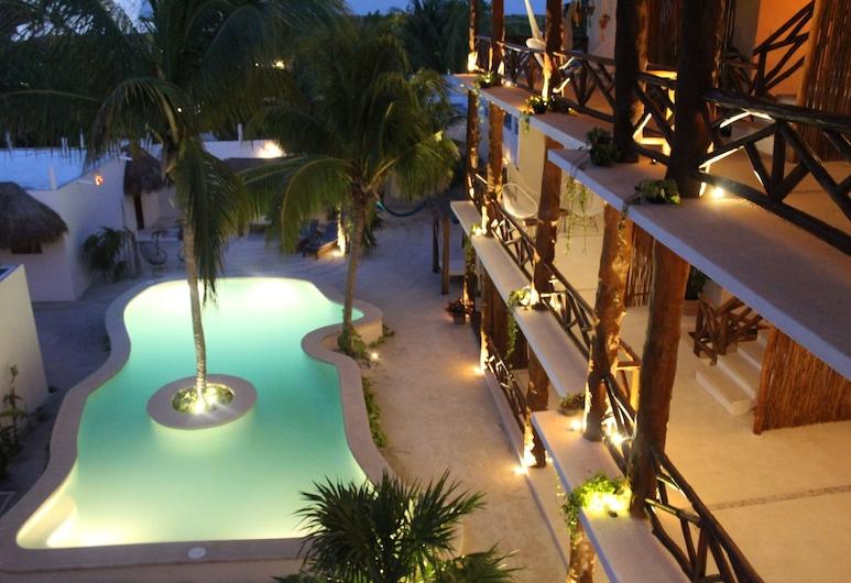 Tierra Mia Hotel Boutique, Isla Holbox, Venkovní bazén