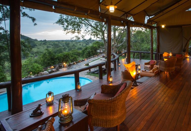 Elewana Serengeti Migration Camp, Serengeti National Park, Hotel Lounge