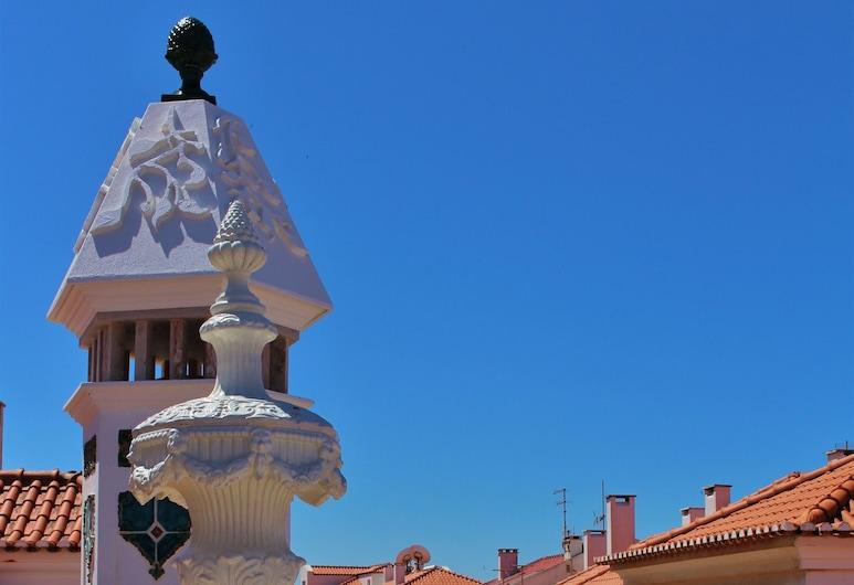 Villa Ana Margarida Hotel, Mafra, ห้องทวิน, อ่างอาบน้ำ, มุมมองถนน