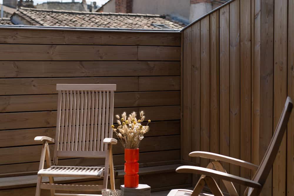 Chambre Double Deluxe, patio - Chambre